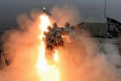 Агентура: ВКрыму впроцессе учений русского флота утопили две боевые ракеты