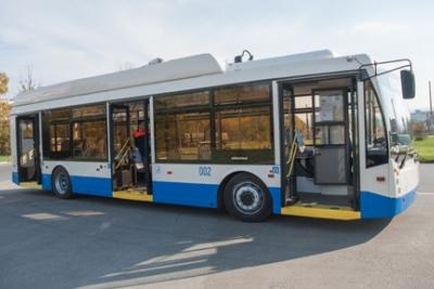 ВСимферополе запустили троллейбусы помаршруту №16 «Марьино-Агроуниверситет»