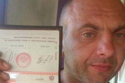 «Крымский диверсант» Захтей просит отнять  его русского  гражданства