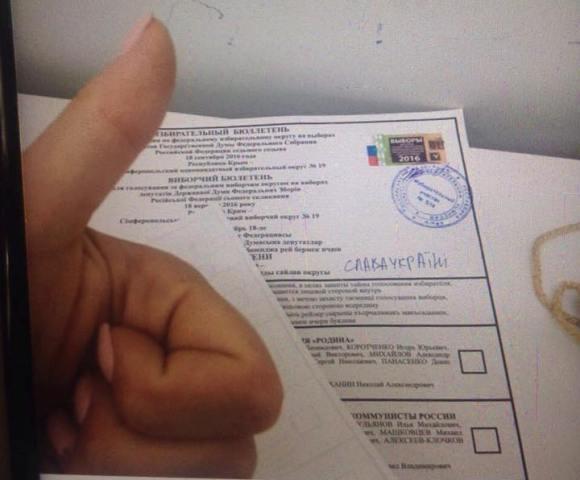 Руководители бюджетных учреждений в оккупированном Крыму отчитываются за каждого проголосовавшего работника - Цензор.НЕТ 2588